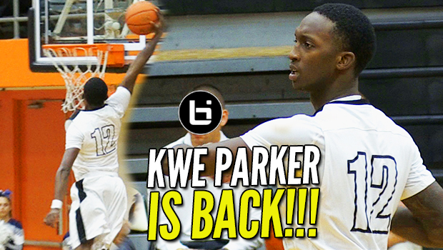 Kwe Parker is BACK! Bounciest JUCO Team in the Nation?!
