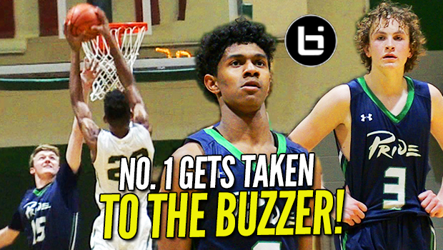 Carter Whitt & Jalen Benjamin Get TAKEN to the BUZZER! Stays Undefeated!