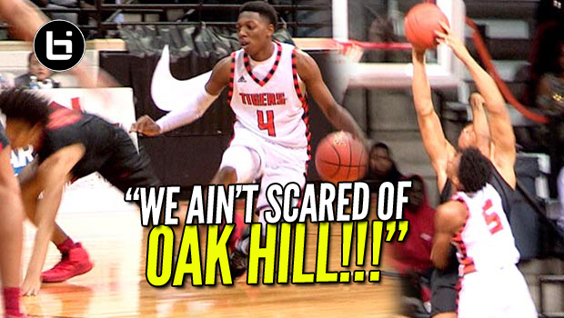 """WE AIN'T SCARED OF OAK HILL THIS THE DIRTY SOUTH!"" Oak Hill VS Lancaster At National Hoopfest."