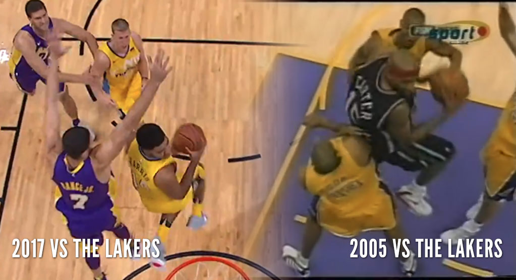 Gary Harris' 360 vs the Lakers Brought Back Some Great Vince Carter Memories