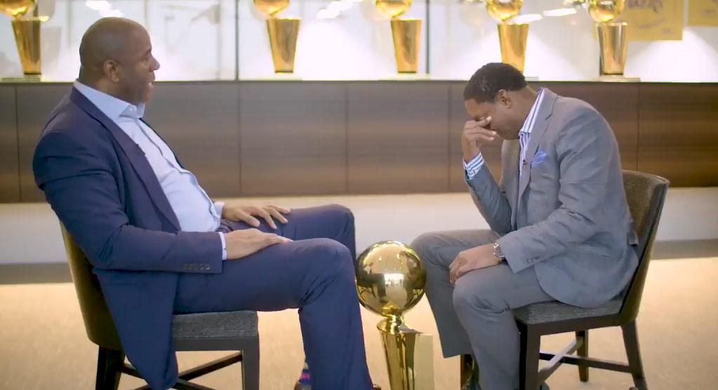 Full Interview: Magic Johnson & Isiah Thomas End Their 20-Year Feud