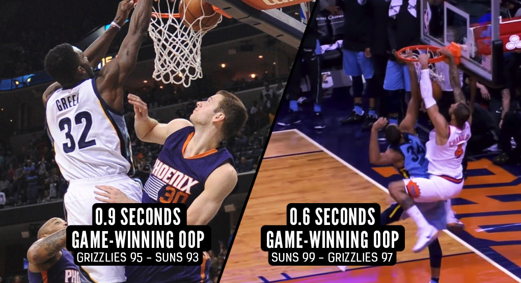 Tyson Chandler's Game-Winning Oop Dunk was Phoenix Payback For Jeff Green's Game-Winning Oop in 2015