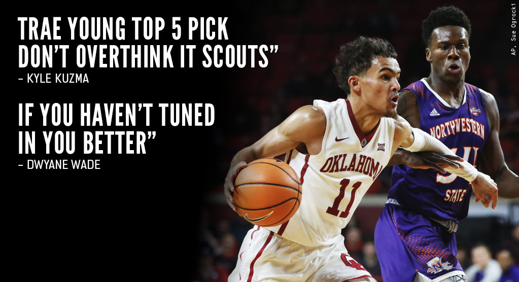 NBA Players React To Trae Young Making NCAA History (26 PTS, 22 ASTS, 2 Shammgods)