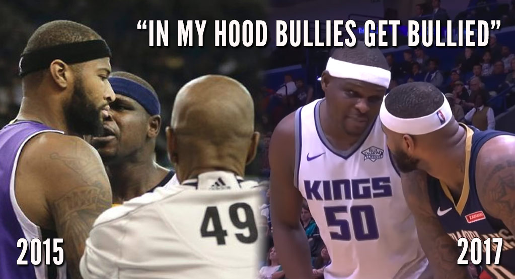 """2 Years Later, Boogie Cousins & Z-Bo Are Still """"Bullying"""" Each Other"""