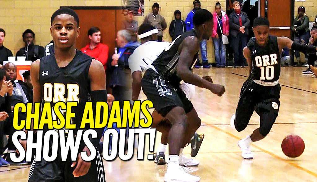 CHICAGO RESPONDS TO SAINT LOUIS!! Speedy Chase Adams Flashes Pull-Up Game at Midwest Showdown!!