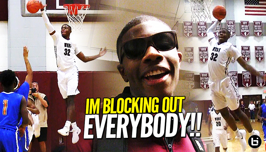 """YOU KNOW IM BLOCKIN OUT EVERYBODY!!"" Ej Liddell Drops 30 Points & 8 Blocks Over East Saint Louis!!"