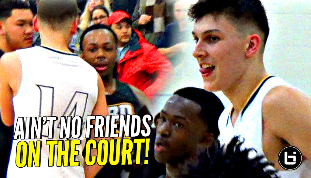 Kentucky Commit Tyler Herro vs Close Friends The Gentry Brothers! But Ain't No Friends on The Court!