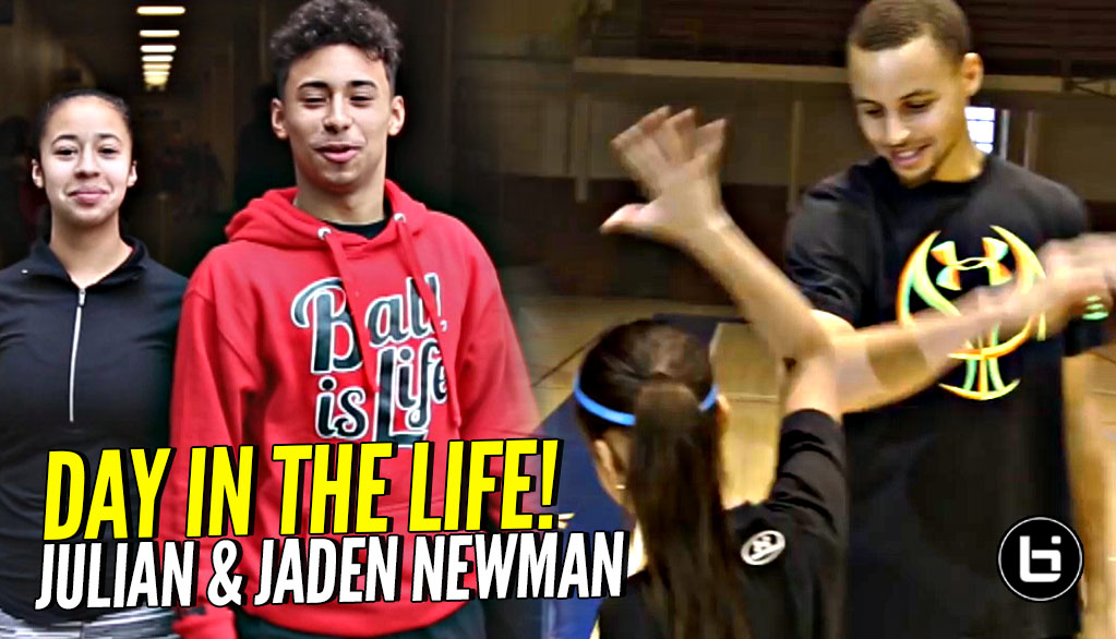 Julian & Jaden Newman: A Day In The Life!! Spend a Day w/ The Internet Phenoms!!