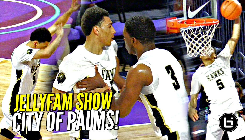 Gets a Lil Heated! JELLYFAM Jahvon Quinerly Show KICKS OFF at City of Palms!! Straight DOMINATE!