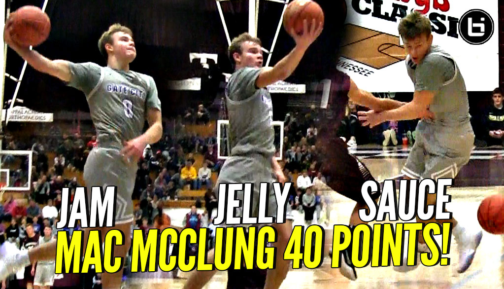 Mac McClung 40 POINT JAM, JELLY & SAUCE!!! Ref ALMOST Ruins Windmill Dunk!! Arby's Classic!
