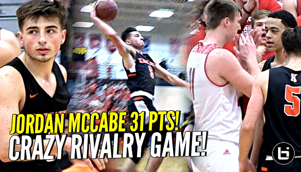Can Football Players Stop Jordan McCabe? Kaukauna vs Kimberly Rivalry Game Highlights!