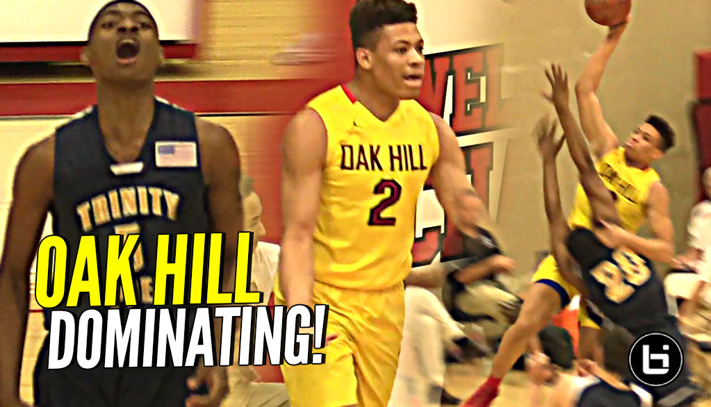 UK Commit Keldon Johnson Leads Oak Hill to 2-0 Sweep at Hoop Hall West!
