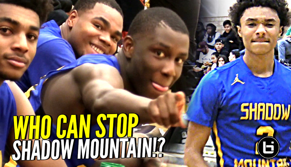 Shadow Mountain SUPER SNATCH BROS!! Their Effort On Defense Is a Sight To See…Chino Hills UP NEXT