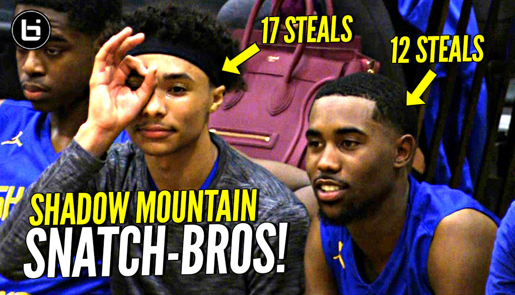 They Make DEFENSE EXCITING! Jaelen House 17 Steal TRIPLE DOUBLE! Shadow Mountain Is HS SNATCH TEAM!
