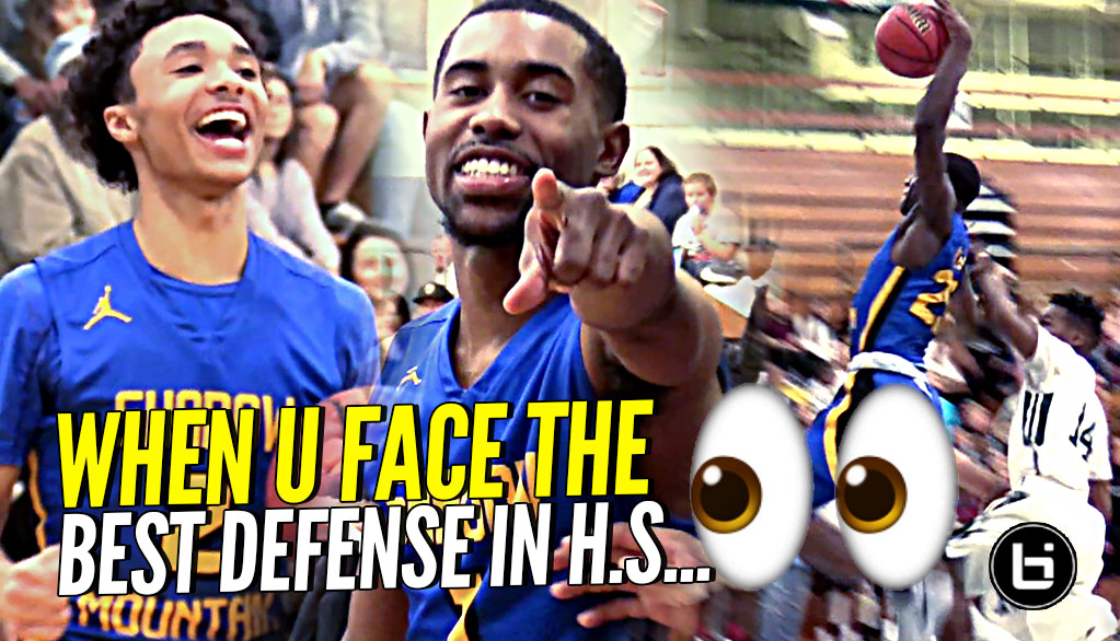 When Your Squad Plays Against THE BEST DEFENSE In HS….AND They Got BOUNCE!!