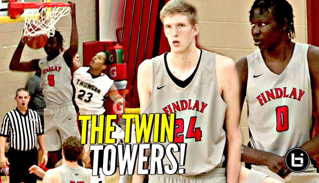 7'1 Bol Bol & 7'3 Connor Vanover On The SAME TEAM!!