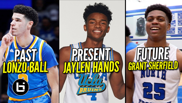 LONZO BALL+JAYLEN HANDS+ FUTURE UCLA PG GRANT SHERFIELD DROPS 44 PTS! FULL HIGHLIGHTS