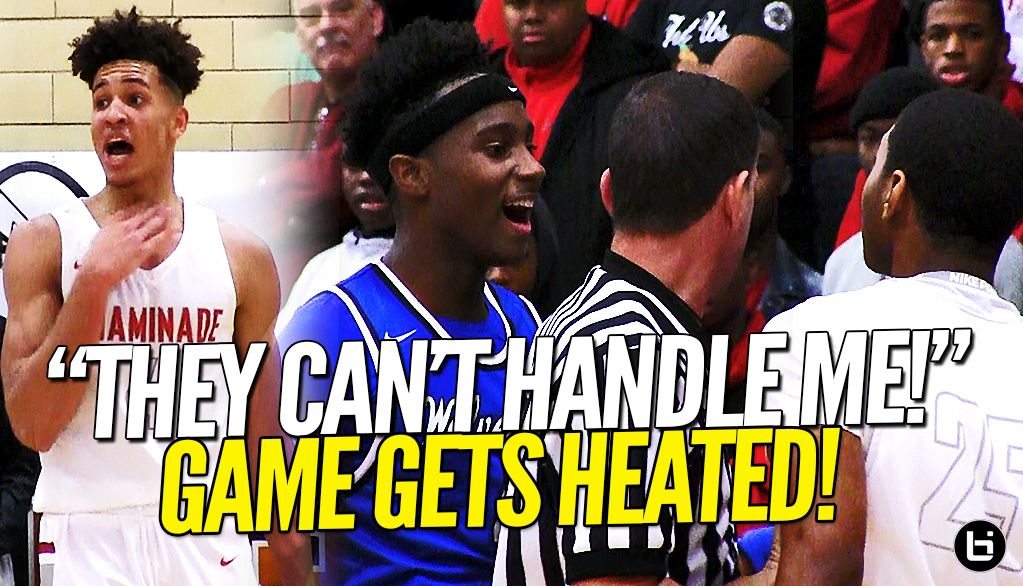 """THEY CAN'T HANDLE ME, IT'S OVER WITH!"" Vashon VS Chaminade Prep Goes DOWN To The Wire!!"