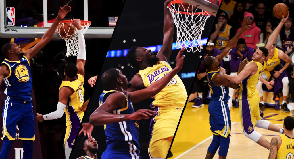 Kevin Durant Kills The Lakers in OT After Getting Dunked On 3 Times, Said He Did It For Kobe
