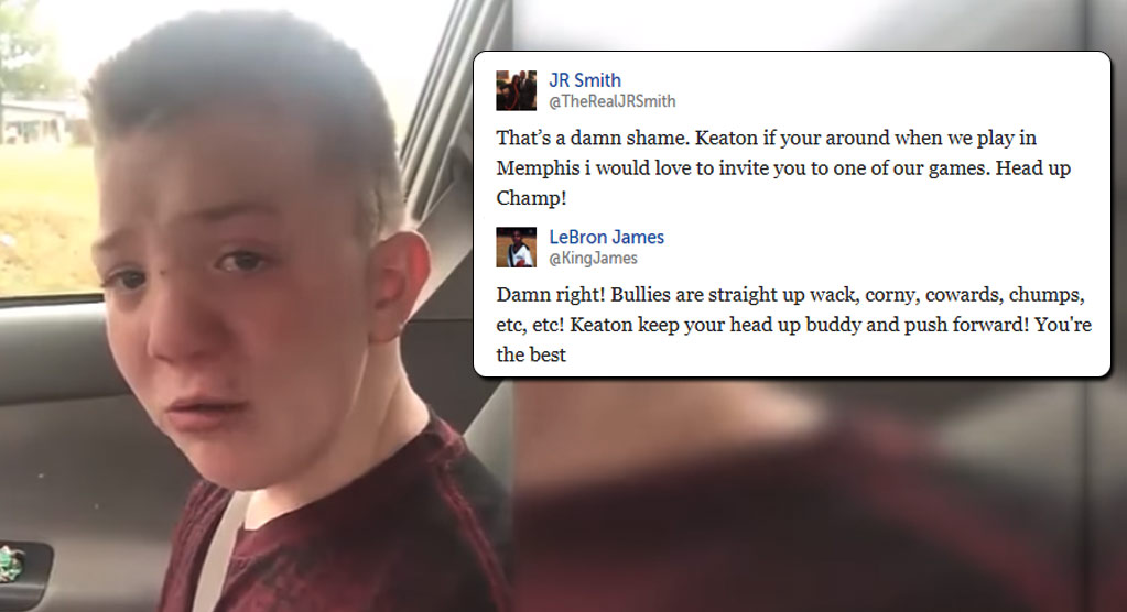 NBA Players React To Video of Bullied Student Keaton Jones