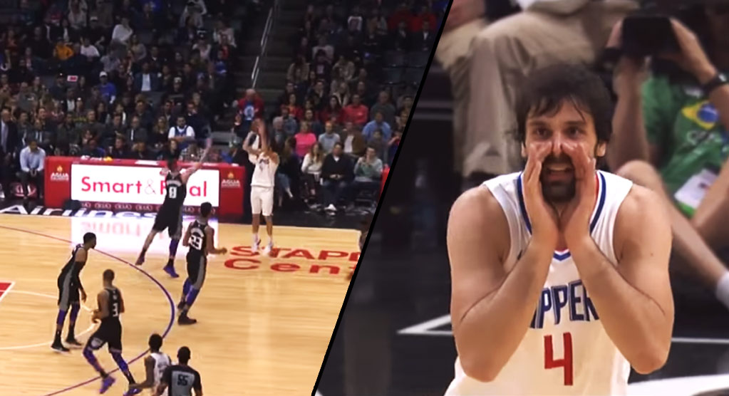 30-Year Old Rookie Milos Teodosic Drops 10 Assists In Just 21 Minutes Vs The Kings