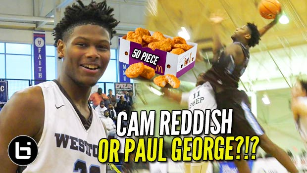 Cam Reddish 50+ Piece McBucket After 34 in LESS THAN 24 HOURS!!!