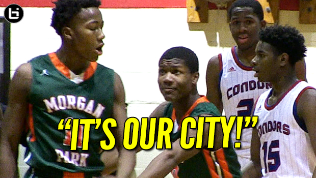 IT'S OUR CITY! Top PG Ayo Dosunmu (Morgan Park) Tested By Curie! FAST-PACED Battle! Full Highlights