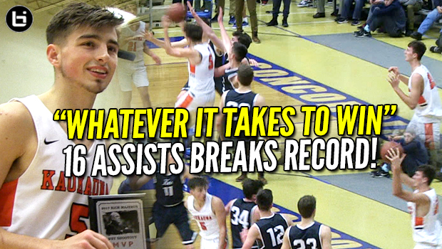 """Do Whatever It Takes To Win!"" Jordan McCabe Record-Breaking 16 Assists vs Undefeated Team!"