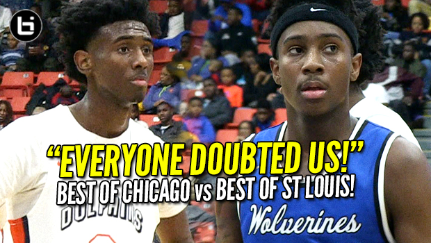 Mario McKinney 32pts Leads Undersized St Louis Vashon vs Undefeated Whitney Young HS! Full Highlights!
