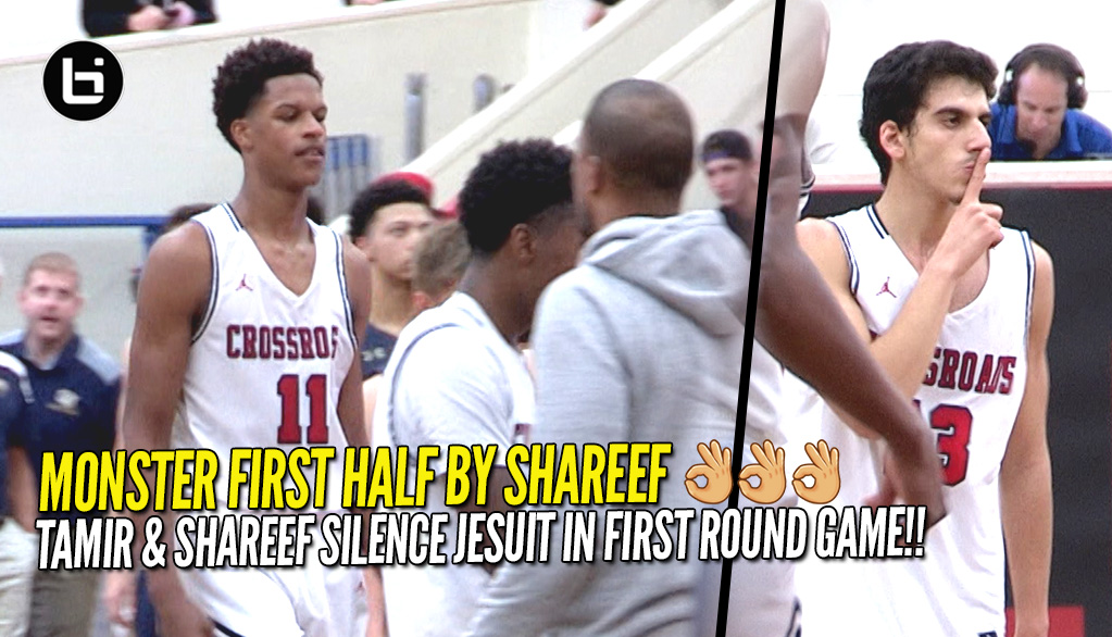 Shareef O'Neal and Tamir Saban Lead Crossroads To First Round Win At Torrey Pines!!