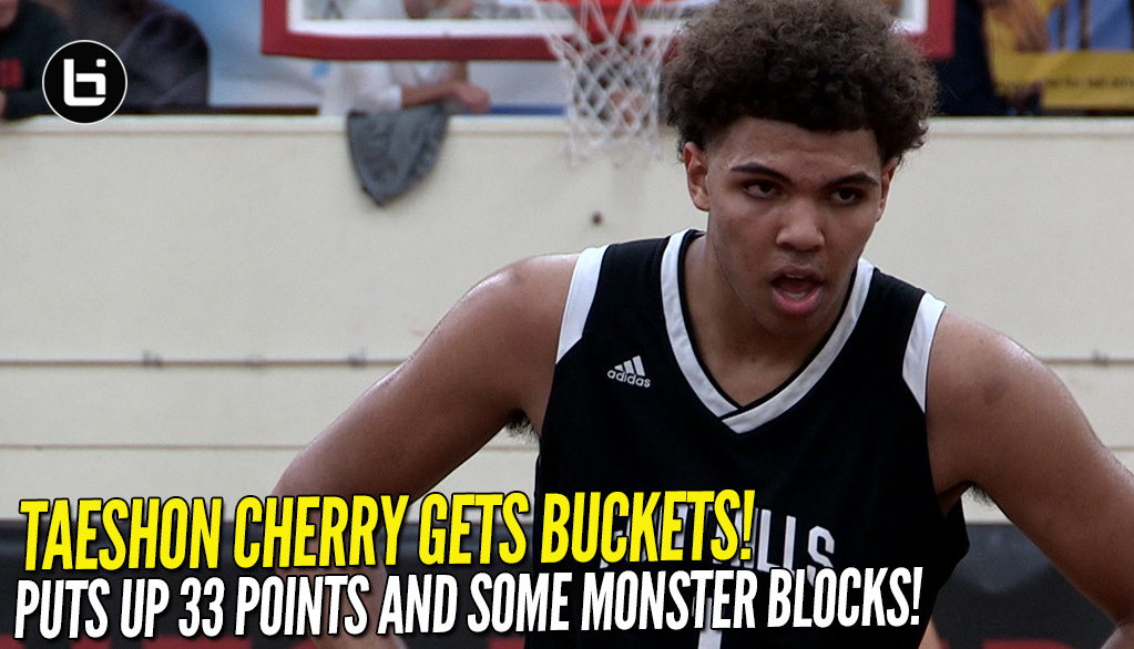 Taeshon Cherry Gets Buckets! Puts Up 33 Points Vs Westchester At Torrey Pines!
