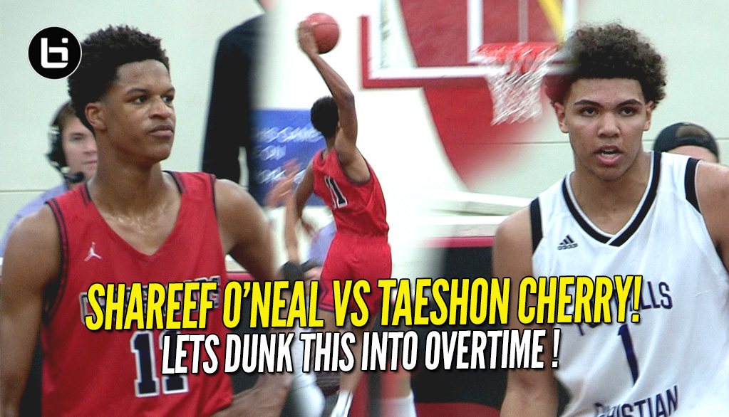 Shareef O'Neal Makes A Statement Vs Taeshon Cherry!! Finishes With 30 Points!!