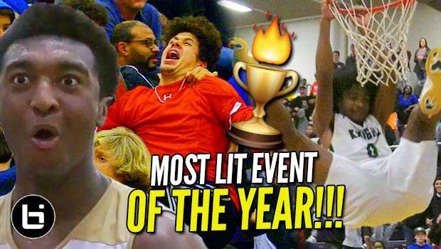Most EPIC Atmosphere in High School Hoops: John Wall Holiday Invitational (MIXTAPE)