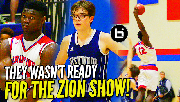 """MERCY RULED IN 1st HALF?!"" Zion Williamson CRUSHES WINDMILL in 50 pt. BLOWOUT! #10forHOY"