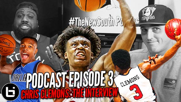 New South Podcast | Ep 3: Chris Clemons Interview + NBA Dunk Contest Draft & More!