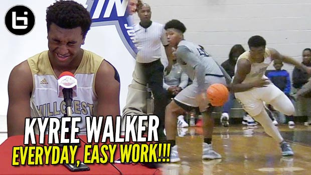 Kyree Walker Big Talk, BIGGER GAME!! In-Depth at John Wall Holiday Invitational!!!