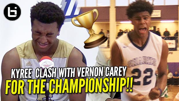 Kyree Walker & Vernon Carey BATTLE in TJ Warren Championship Game (John Wall Holiday Invitational)