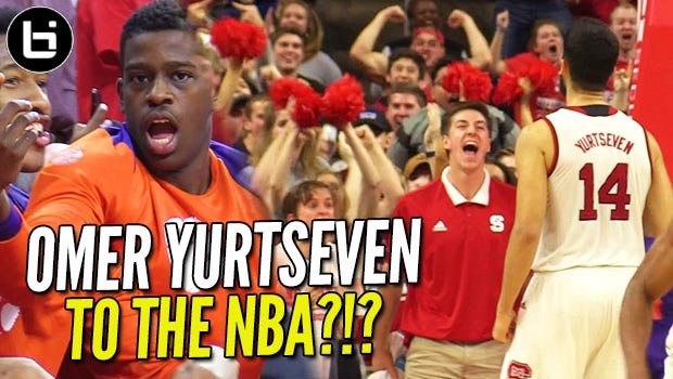 Turkey's Next NBA Star?!? 7ft Omer Yurtseven Looking NBA Ready vs Top 20 Team in the Country