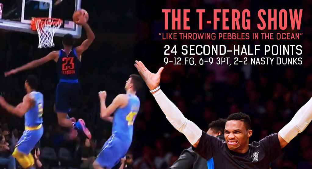Rookie Terrance Ferguson Showed Why He Might Be The First Dunk & 3-Point Contest Winner