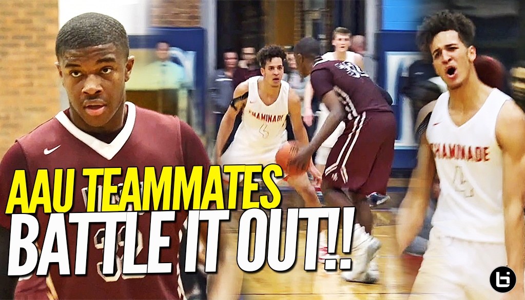 AAU TEAMMATES GOES AT IT!! Jericole Hellems & Ej Liddell Battle It Out In Championship OT Thriller!