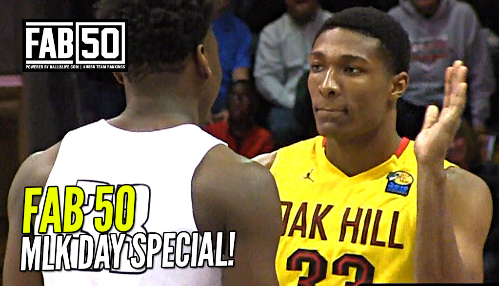 UPDATED FAB 50: Special MLK Edition!