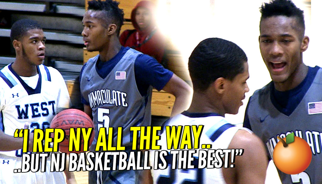 """New Jersey Basketball is the Best!"" Future Syracuse Guard Jalen Carey is a Walking Bucket!"