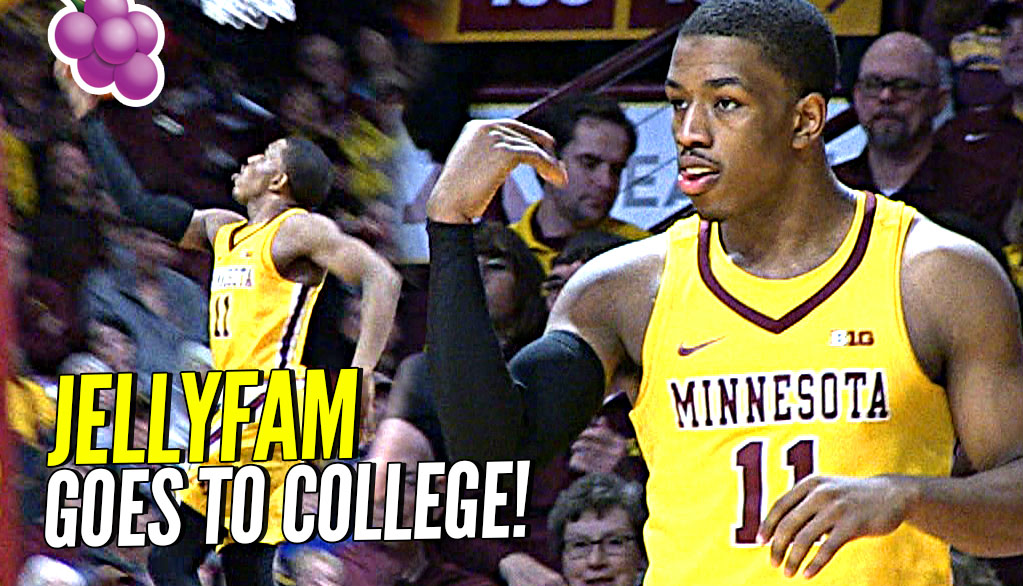 JELLY FAM vs BIG TEN! Isaiah Washington Full College Game Highlights, Pregame Routine at Minnesota!