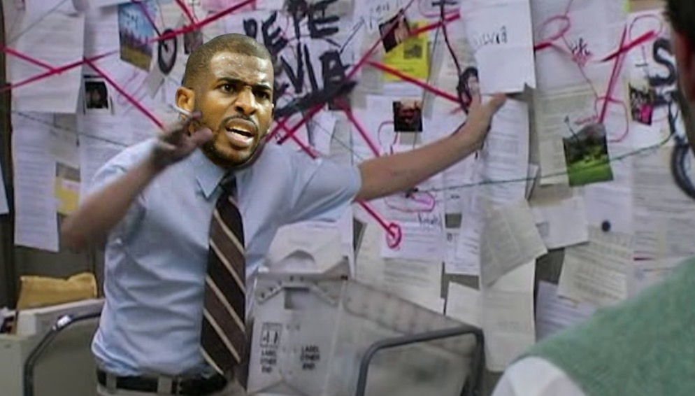 "The Internet Hilariously Reacts To CP3 Leading Rockets Through ""Secret Tunnel"" To Confront Clippers"
