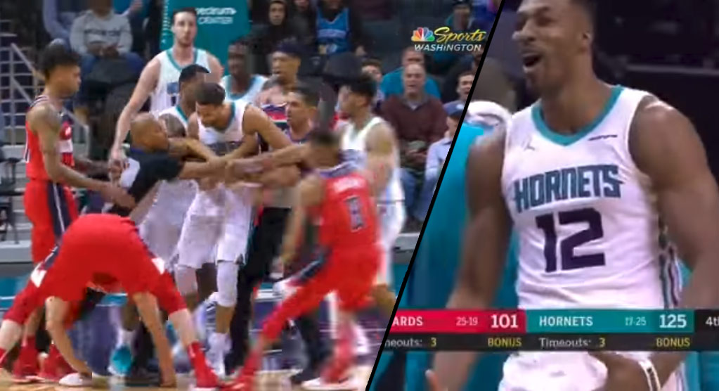 Dwight Howard Does Big Balls Dance After Post-Scuffle Free Throws