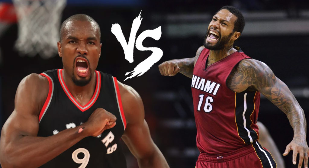 Who Would Win A Fight Between Serge Ibaka and James Johnson?