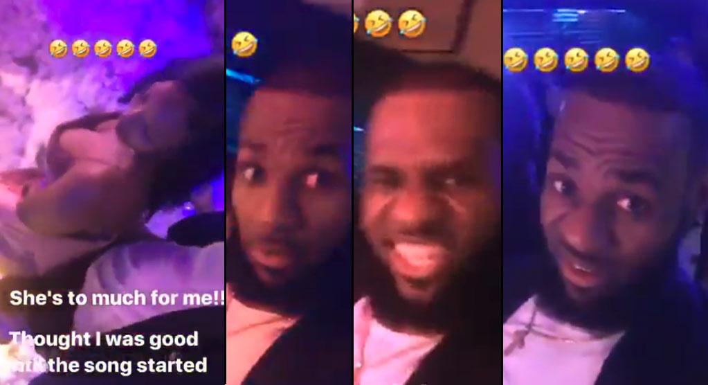 10 Minutes of LeBron & Teammates Celebrating New Years Eve