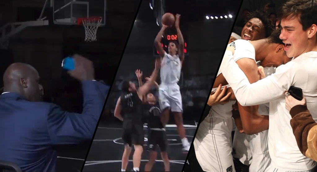 Shareef O'Neal Nails Game-Winning Shot In Front Of His Dad & The Inside The NBA Crew
