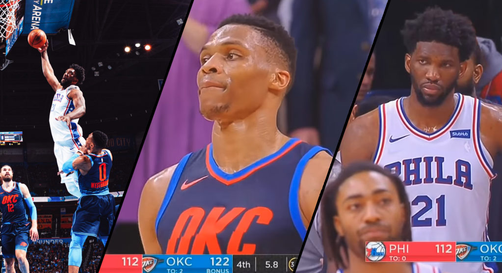 """Top 10 Best Moments From """"Westbrook & Embiid Are Troll Gods Part 2"""""""