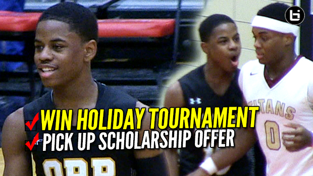 Chase Adams, Orr Academy Blowout Proviso Tournament Field! Adams Picks Up D1 College Basketball Offer!